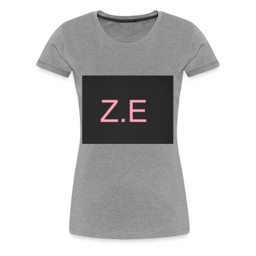 Zac Evans merch - Women's Premium T-Shirt