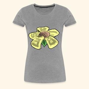 Vibes Flower by GVD - Women's Premium T-Shirt