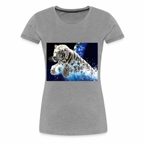 desktop year of the tiger images wallpaper - Women's Premium T-Shirt