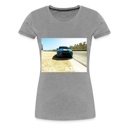 The car - Women's Premium T-Shirt