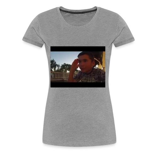 When Ladybug Shows up. - Women's Premium T-Shirt