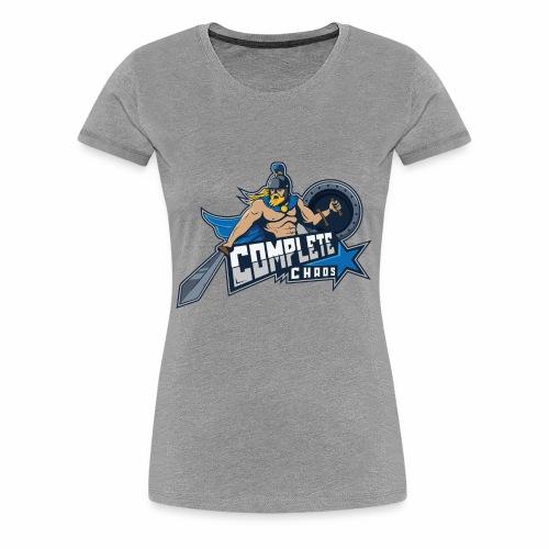 Complete Chaos - Blue - Women's Premium T-Shirt