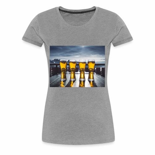beer pic - Women's Premium T-Shirt