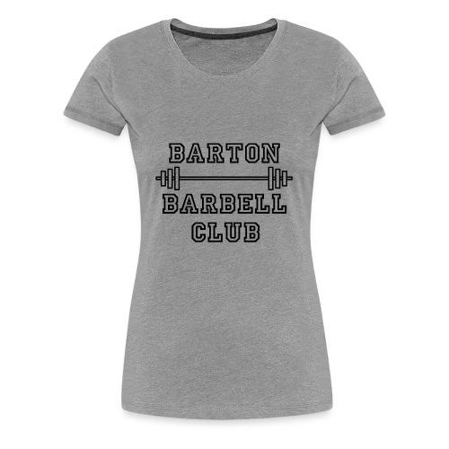 Barton black - Women's Premium T-Shirt