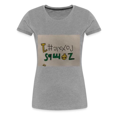 Zombs Royale #1 - Women's Premium T-Shirt
