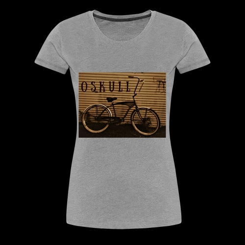 ratrod bike old school style - Women's Premium T-Shirt