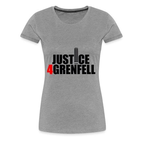 Justice4Grenfell Shirt - Women's Premium T-Shirt