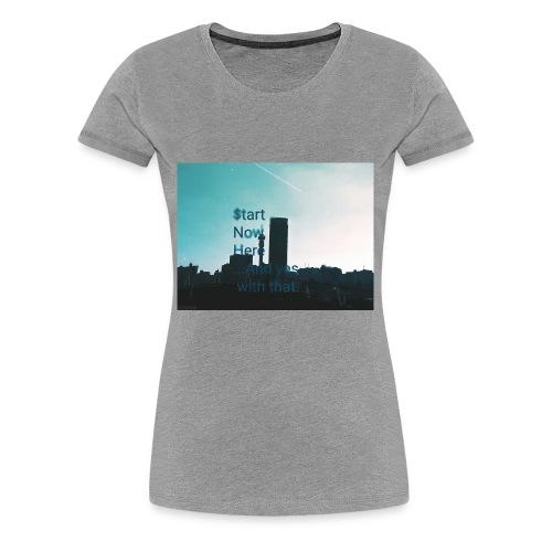Johannesburg hustles - Women's Premium T-Shirt