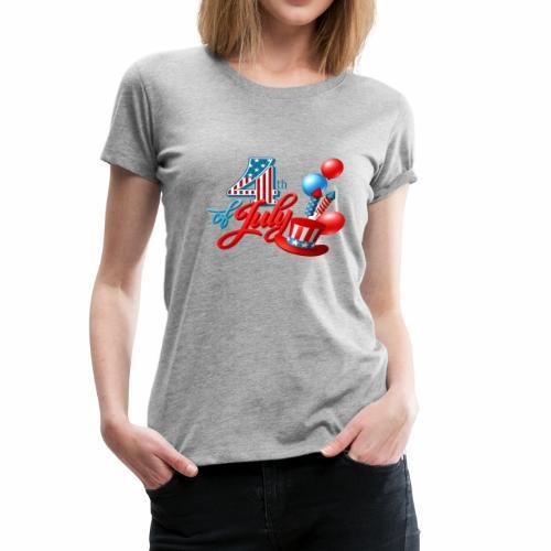 4th of july t-shirt new 2018 - Women's Premium T-Shirt