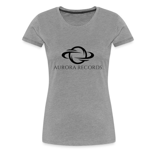 Aurora Records Logo - Women's Premium T-Shirt
