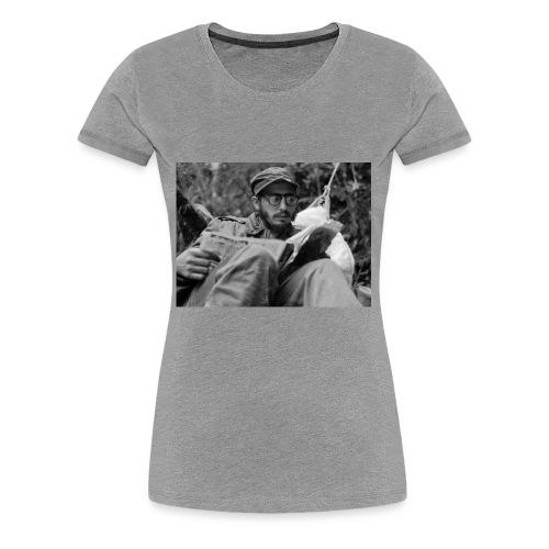 Viva Fidel ~ Book - Women's Premium T-Shirt