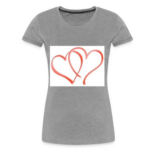 Double the Love - Women's Premium T-Shirt