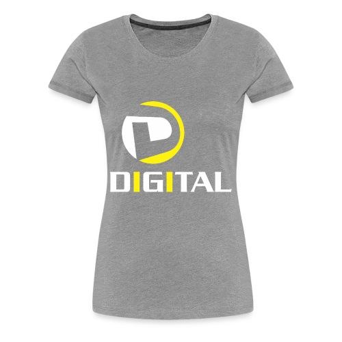 Digital - Women's Premium T-Shirt