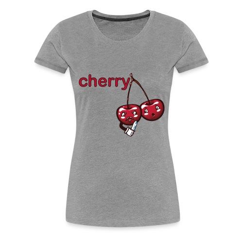 cherry - Women's Premium T-Shirt