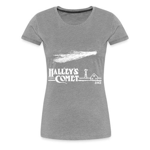 Halleys Comet T Shirt Vintage Nasa T Shirt Cool - Women's Premium T-Shirt