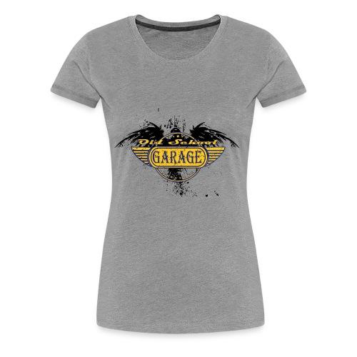 Old School Garage 002 - Women's Premium T-Shirt