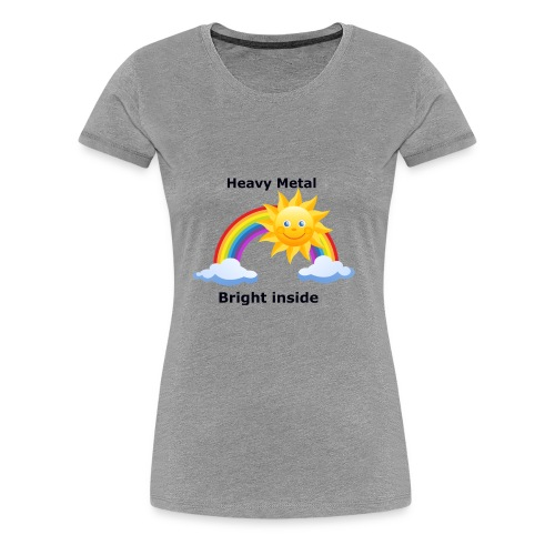 heavymetal bright inside - Women's Premium T-Shirt