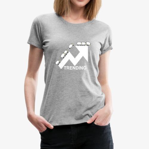 Trending sheep - Women's Premium T-Shirt