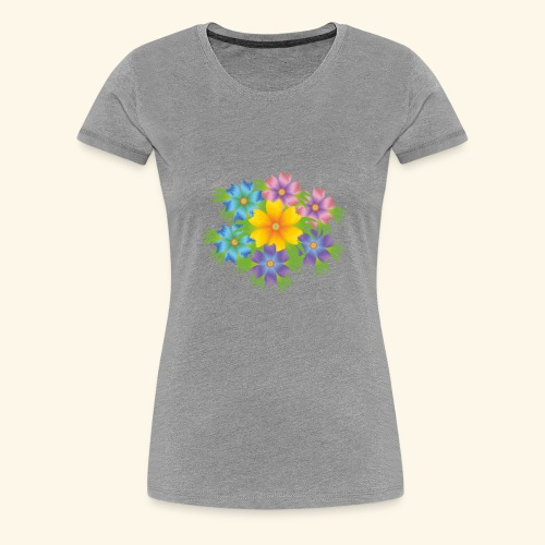 flower1 - Women's Premium T-Shirt