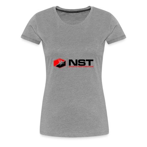 NST Color Logo - Women's Premium T-Shirt