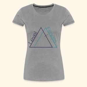 LevelFitnessLogo - Women's Premium T-Shirt