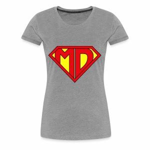 Medical Doctor Superman - Women's Premium T-Shirt