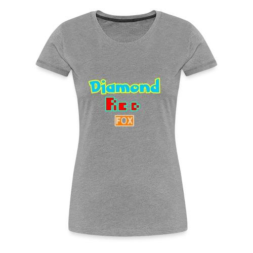 Diamond red fox official - Women's Premium T-Shirt