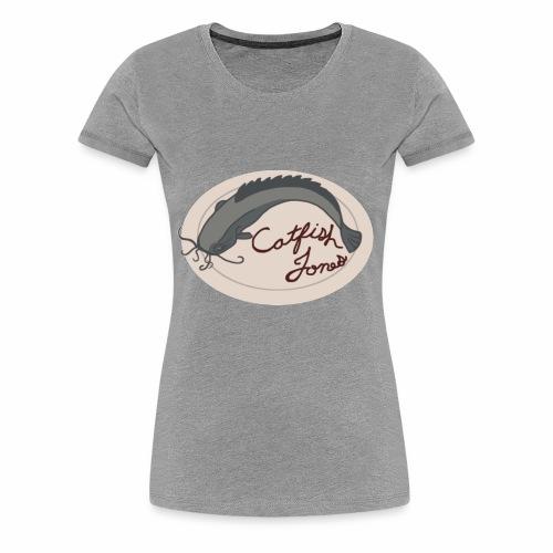 Fish Painting - Women's Premium T-Shirt