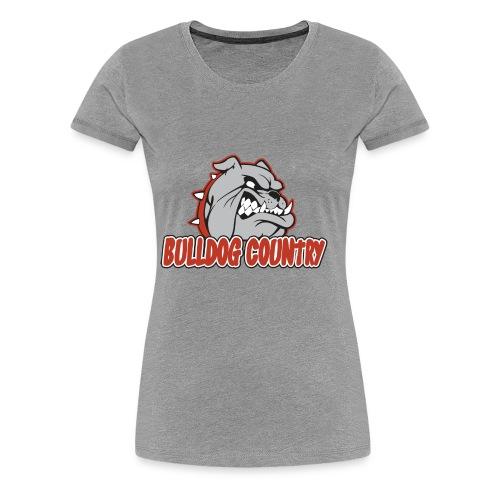 Bulldog Country - Women's Premium T-Shirt
