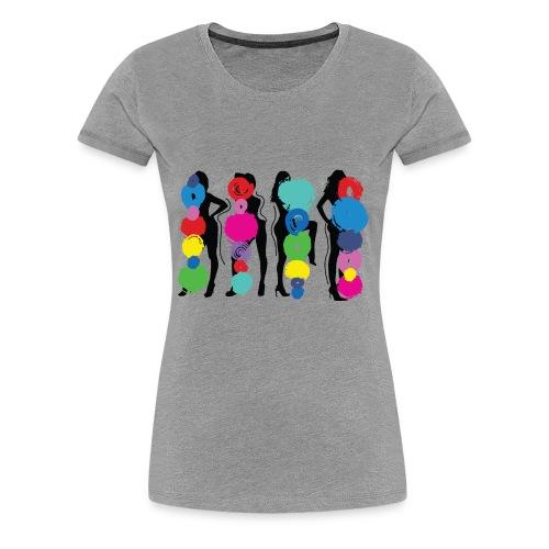 Girls Pose - Women's Premium T-Shirt