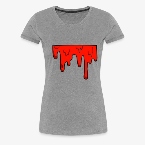 dripping color - Women's Premium T-Shirt