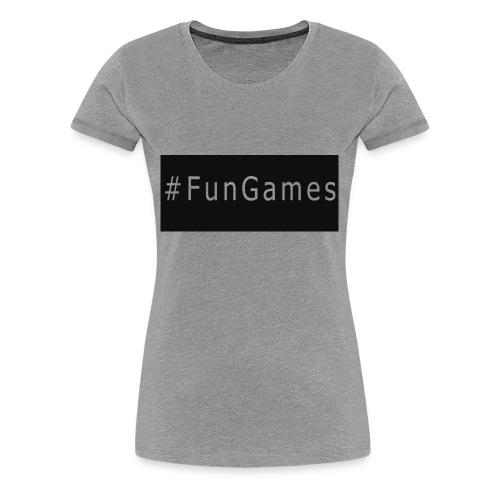 -FunGames - Women's Premium T-Shirt