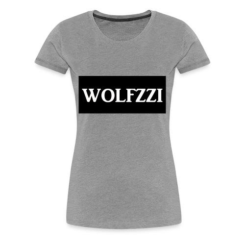 wolfzzishirtlogo - Women's Premium T-Shirt