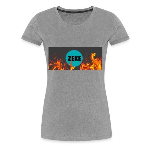 Zeke Logo Shirt - Women's Premium T-Shirt