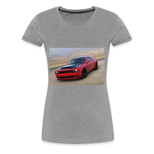 2018 Dodge Demon Prairie Front - Women's Premium T-Shirt