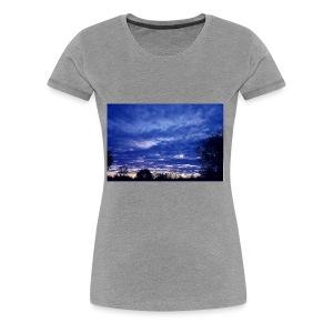 SunsetBlue - Women's Premium T-Shirt