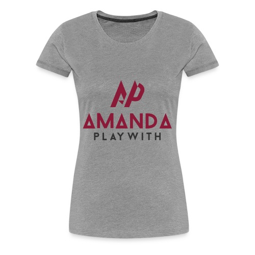 Amanda Playwith Logo Shirt - Women's Premium T-Shirt