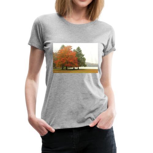 Autumn Fog - Women's Premium T-Shirt