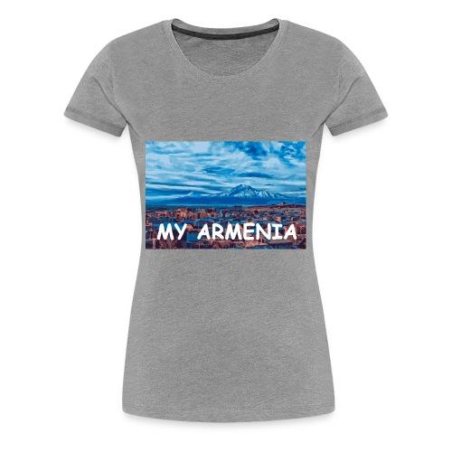 MY armenia - Women's Premium T-Shirt