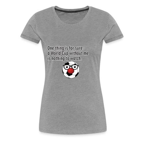 football - Women's Premium T-Shirt