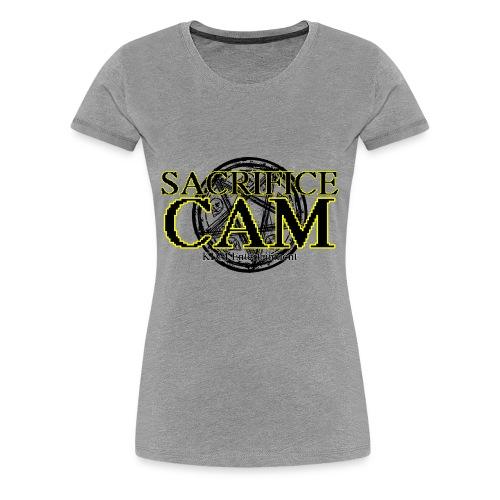 Sacrifice Cam Logo - Women's Premium T-Shirt