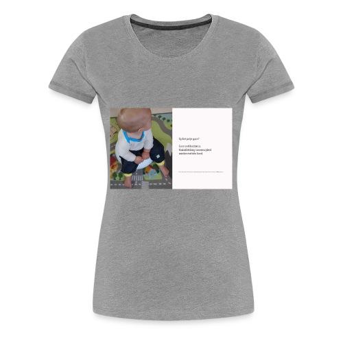 Op het potje gaan? - Women's Premium T-Shirt