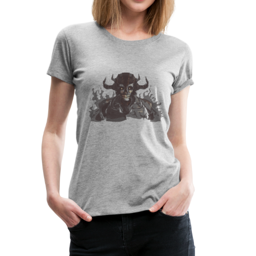 armored skeleton - Women's Premium T-Shirt