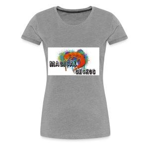 Magical Geckos Logo - Women's Premium T-Shirt