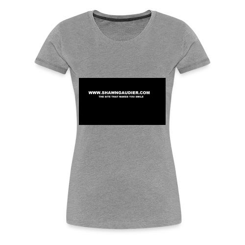 Shawn Gaudier T Shirt Logo - Women's Premium T-Shirt