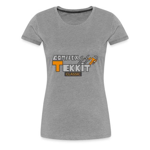 Complex Tekkit - Women's Premium T-Shirt