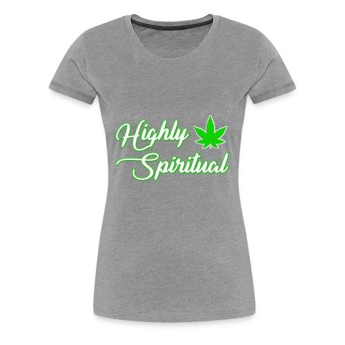 Highly Spiritual Logo - Women's Premium T-Shirt