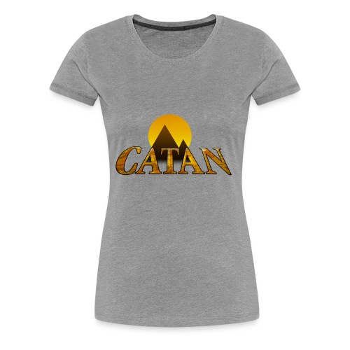 Modern Settlers of Catan - Women's Premium T-Shirt