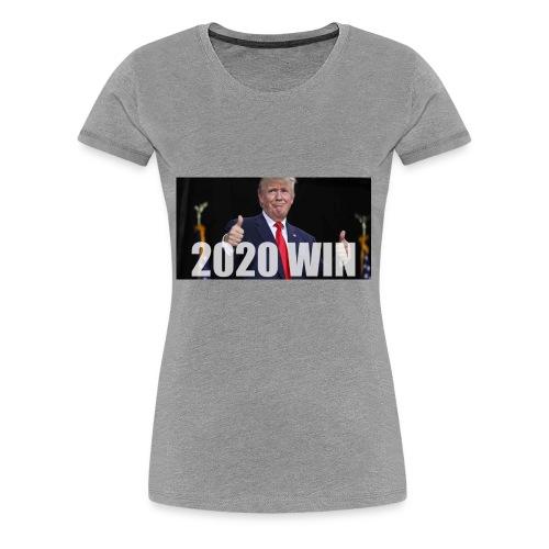 BLOOMBERG TRUMP 2020 009 01 e1498045364797 - Women's Premium T-Shirt