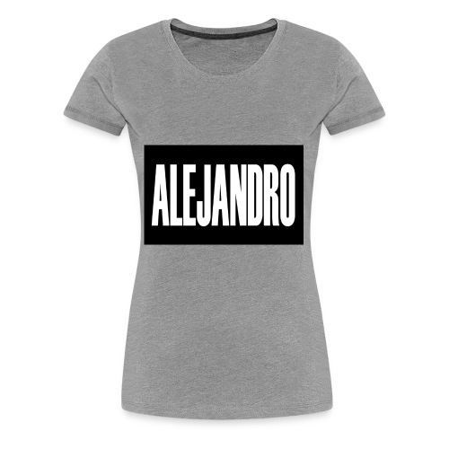 Alejandro - Women's Premium T-Shirt